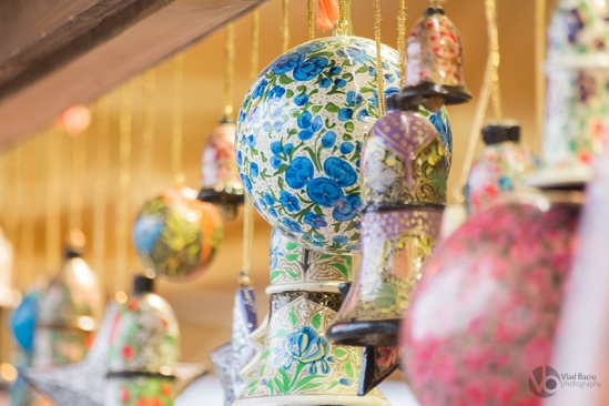 Globes-and-bells-and-star-ornaments-for-Christmas-made-from-painted-wood